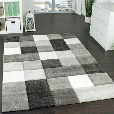 design teppiche designer teppich mit kariert grau design teppiche