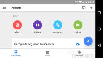 optimizar imagenes google google fotos para android estrena cambios en su interfaz