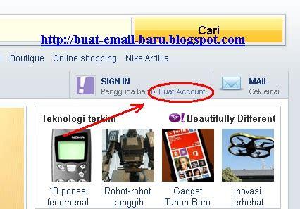 membuat email ymail  rocketmail seputar email