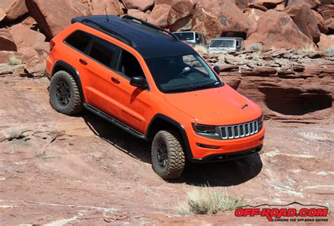 jeep grand cherokee trailhawk off road video jeep trailhawk ii concept vehicle off road com
