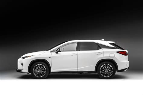 new lexus 2016 2016 lexus rx 350 f sport and rx 450h show up in nyc