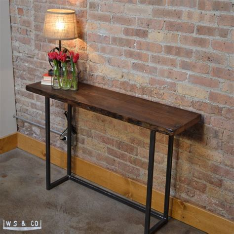 wood and iron sofa table metal and wood sofa table windham solid wood and iron