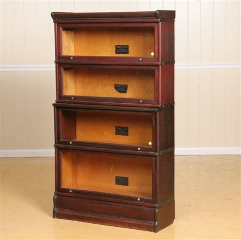 Macey Bookcase 305 Four Stack Bookcase Mahogany Finish Macey Quot Gran