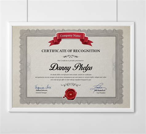 certificate design in photoshop tutorial multipurpose certificates a4 and us letter size on behance