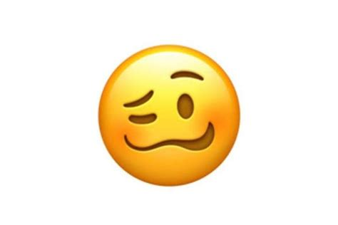 the is confused what does the new woozy emoji