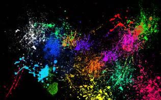High Back Sofa Rainbow Paint Splatter By Okamilover1730 On Deviantart