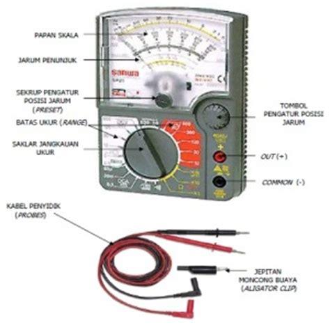 Multimeter Digital Dan Analog cara menggunakan multimeter dan fungsi bagian multimeter