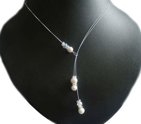 Brautschmuck Mit Perlen by Brautschmuck Mit Perlen Zuchtperlen Collier Modern