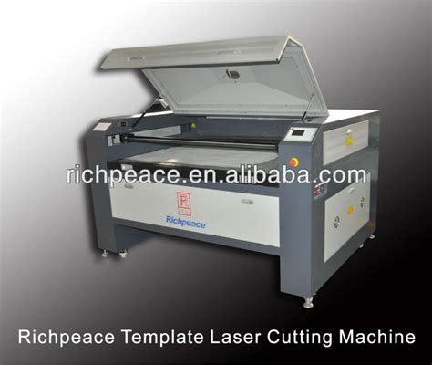 template cutting machine richpeace garment pattern laser cutting machine