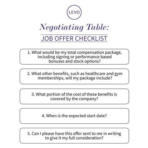 negotiating table 5 questions you need to ask when