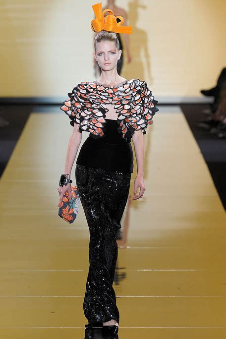 Catwalk To Carpet In Giorgio Armani by Giorgio Armani Prive Fall 2011 Collection Big In Japan
