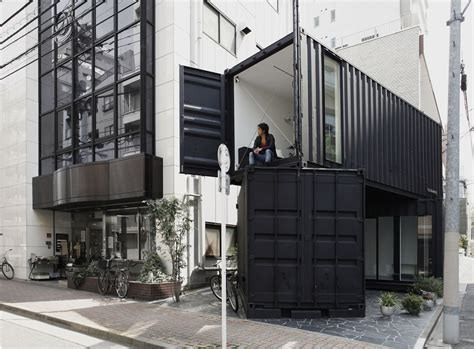 Small Home Business Shipping 10 Cool Japanese Container Homes Container Living