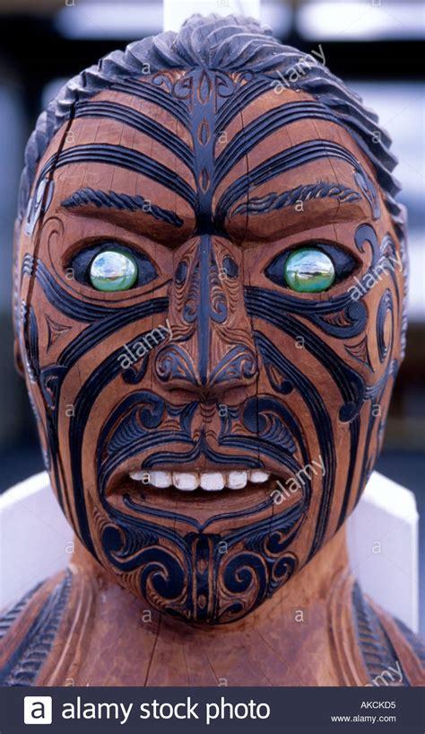traditional maori maori warrior portrait stock photos maori warrior
