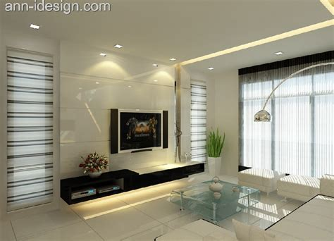 living hall 78 house interior design johor personalized house