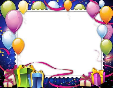 Frame 6r Happy Birthday birthday frame png images free