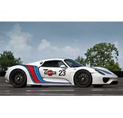 2013 Porsche 918 Spyder Martini Livery Image Https//www