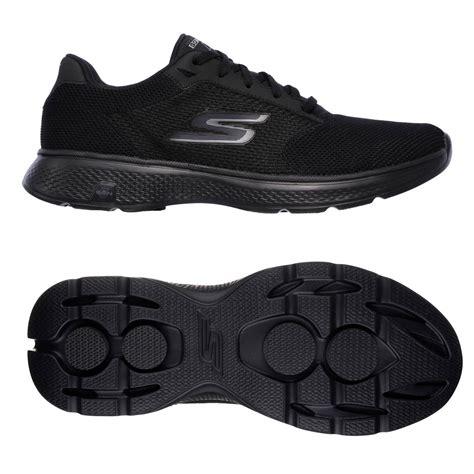 skechers go walk 4 lace up mens walking shoes