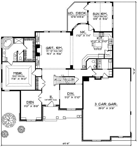 2 level floor plans french country two story home plan 89194ah 1st floor