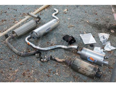 volvo replacement exhaust system     turbo