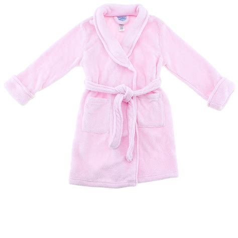 toddler bathrobe and slippers pink robe by cozytime