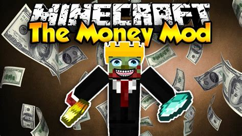 download mod game get rich minecraft the money mod i m rich youtube