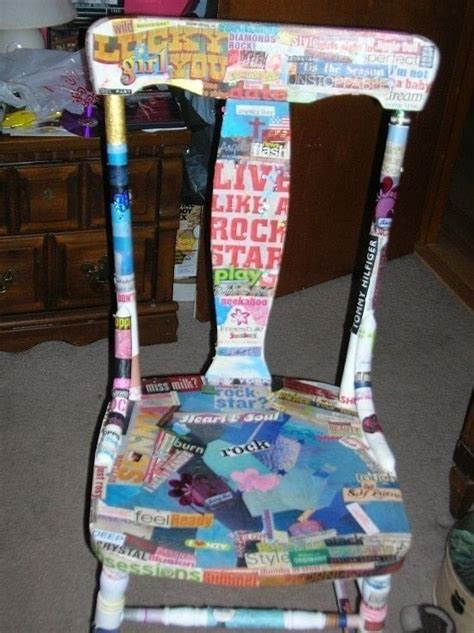 Decoupage Magazine Pictures - decoupage magazine chair 183 a chair 183 decoupage on cut out