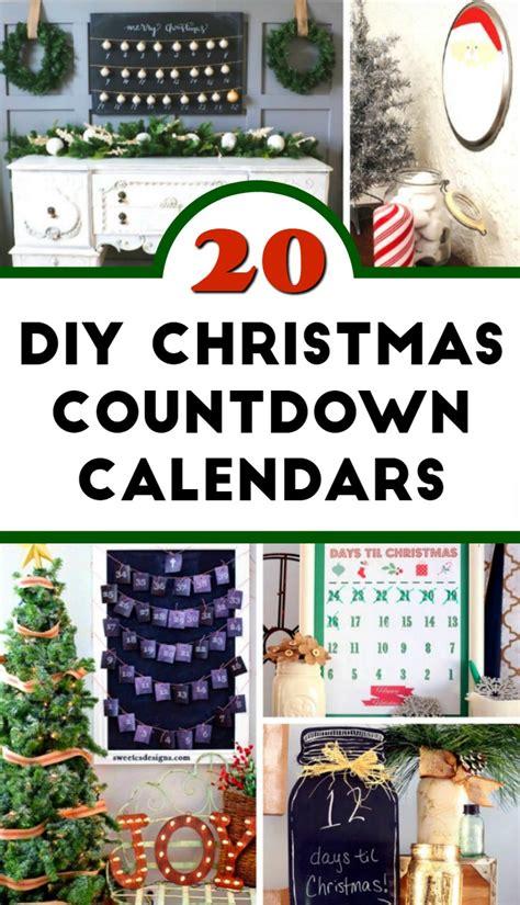 how to make a countdown calendar for 20 diy countdown calendar ideas foodie