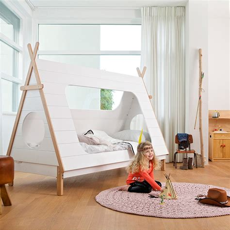 kids bedroom teepee the twee free guide to girls bedrooms red online