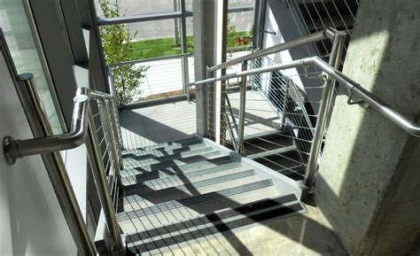 residential  commercial staircase rail systems