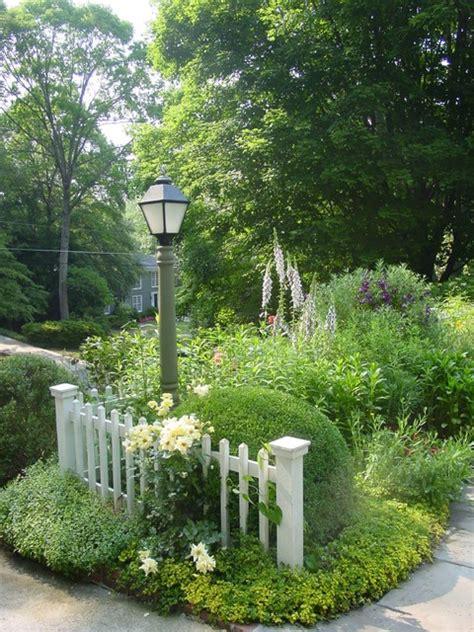 Cottage Garden Entry Post Landscaping