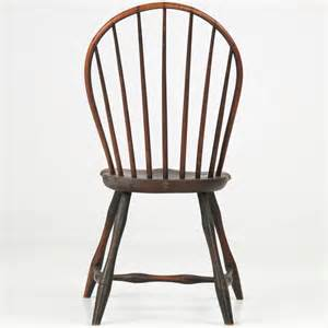 American bowback windsor side chair pennsylvania circa 1800 image 5