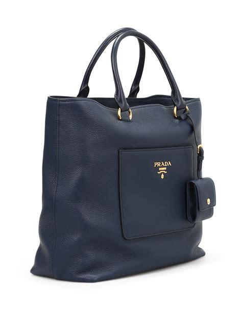 Tote Bag Prada front pocket squared tote by prada totes bags ikrix