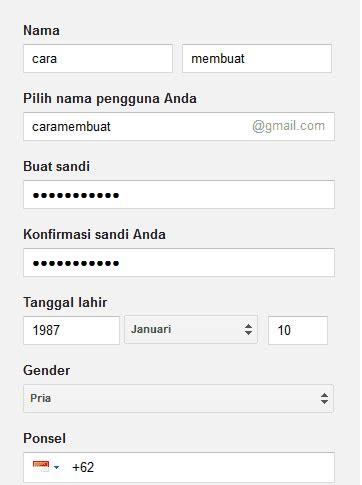 daftar email gmail buat akun gmail   google