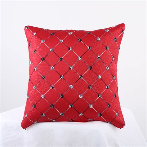 Sofa Bed Cushion Home Sofa Bed Decor Multicolored Plaids Throw Pillow Cushion Cover Showy Ebay