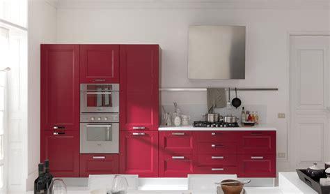 cucinare passione cucina in rosso passione contemporanea arredo casa roma
