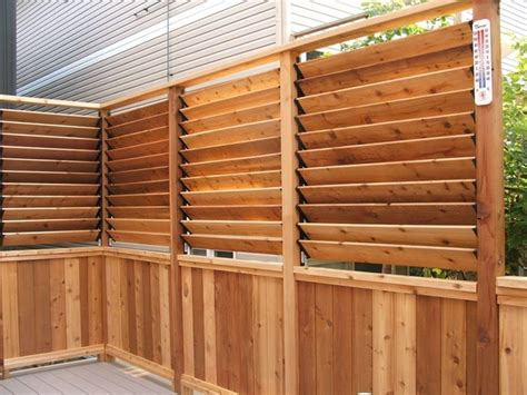 small house fence design small deck design with louvered fence craftsman