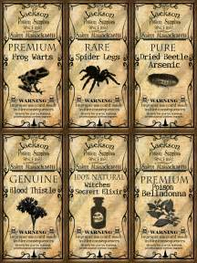 potion label template digital collage sheet altered domino potion labels