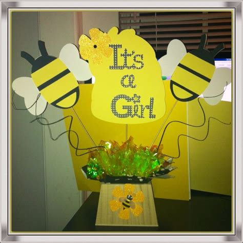 bumble bee baby shower centerpiece baby shower gifts