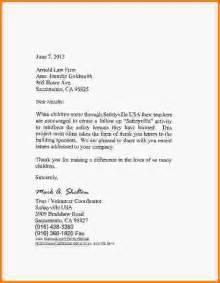 fast help letter thank you sponsor