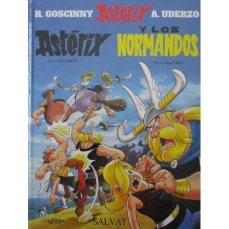 astrix y los normandos asterix y el caldero salvat