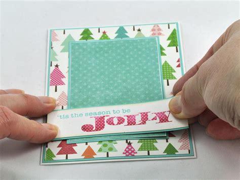 3 d felt christmas tree card hgtv