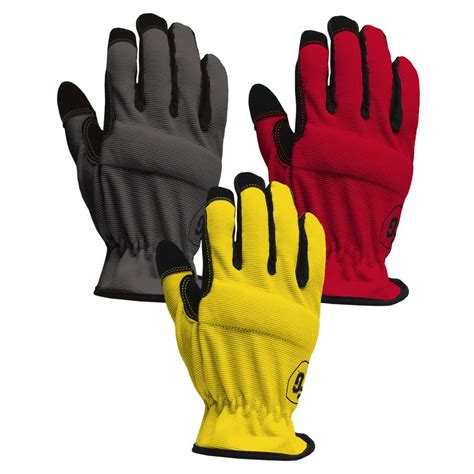 Black Grey And Red Area Rugs Firm Grip Large High Dex Gloves 3 Pack 3101 96 The