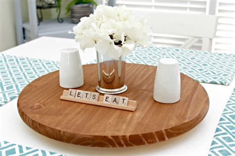 how to make a lazy susan for a kitchen cabinet make your own lazy susan for your table mom 4 real