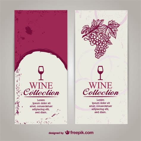 wine list template free wine menu templates free