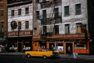 in color new york color photos of new york in 1960s vintage everyday
