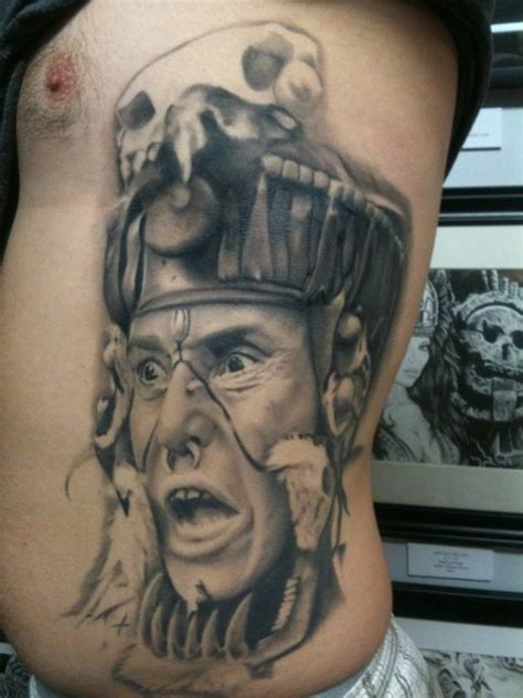 apocalypto tattoos designs blindside studio portrait of zero wolf of the