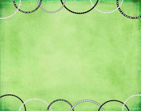 Green Birthday Wallpaper Colors Powerpoint Wedding Ppt Templates Free Border Green