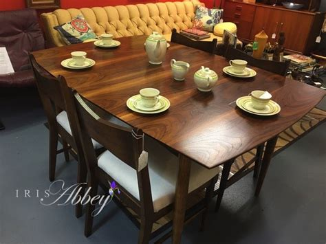 Caldwell Furniture by 4 Characteristics Of Mid Century Modern Dining Table Sets