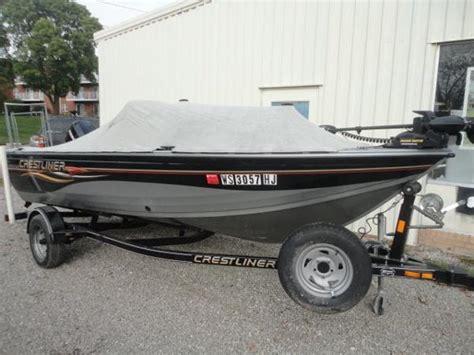 crestliner boats for sale wisconsin crestliner boats for sale in oshkosh wisconsin