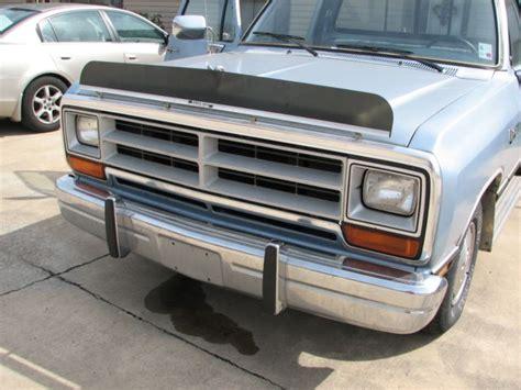 dodge parts 1989 dodge ram truck original parts ram 100 classic